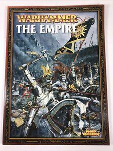 The Empire Armies Army Book Codex Rulebook 6th Edition Warhammer Fantasy B4