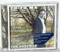 CD YO-YO MA Simply Baroque II - Ton Koopman