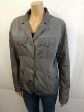 ADD Designer Blazer Jacke Gr.44 I50 USA12 Jacket Sweatdetails Grau