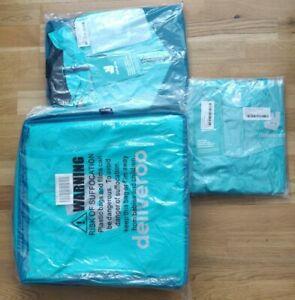 Brand New SEALED Deliveroo Large Bag, Base Layer(L), jacket (L) bundle