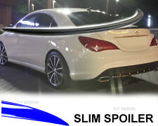 Mercedes 117 CLA AMG tuning 45 180 200 220 Spoiler Lackiert SCHWARZ Heck lippe