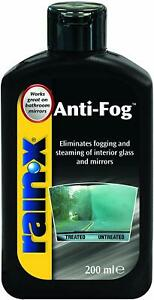 Rain-X Anti Fog Window Mirror Glass Condensation and Steaming Treatment - 200ml*