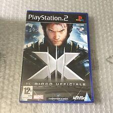 VINTAGE# PS2 PLAYSTATION X MEN  OFFICIAL #PAL SEALED