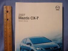 Mazda 2007 CX-7 Owner's Manual
