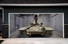 3d Effect Garage Door Billboard Cover Sticker Vehicle Tank Outside Decor GD91