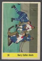 1958-59 Parkhurst Hockey Card #36 Brian Cullen Shoots