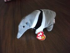 """Ty Beani Baby """"Ants"""" The Anteater - Retired w/ Errors 1997/1998"""