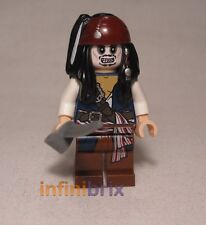 LEGO capitano Jack Sparrow SCHELETRO DA SET 4181 PIRATES OF THE CARAIBICO poc012