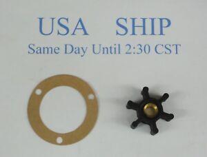 Impeller Kit Replaces Onan 131-0160 Pump 131-0165 131-0267 P2563 3 hole Gasket