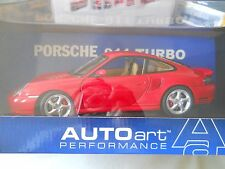 AUTOart Porsche 911 Turbo Red 1:18 Diecast