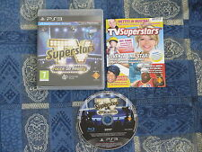 PS3 : TV SUPERSTARS : FACCE DA REALITY - Completo, ITA ! Come nuovo !