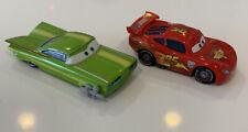 Disney Pixar Cars Lot, Lightning McQueen, Green Ramone, Spray Paint Gun, RARE !!