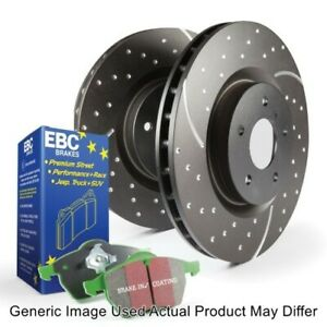 EBC S10KR1278 Rear S10 Kits Greenstuff 2000 & GD Rotors For Volkswagen GTI NEW