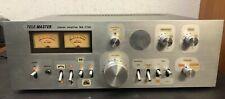 TELE Master Verstärker Amplifier WA-7700 schweres Gerät 80 er Jahre ungeprüft