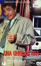 Colombo. Una ghigliottina per il tenente Colombo (1989) VHS CIC Peter Falk