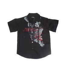Camisas  niño de Newness,negro ,talla 8