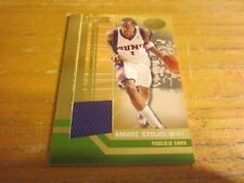Amare Stoudemire 2007-08 Bowman Elevation Relics Green #AS #'d 01/29 Card Suns