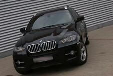 BMW X6 e71, eyebrows, Genuine ABS plastic 08- NEW headlight spoiler eye lids