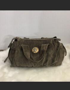 Gucci Guccissima Suede Leather Bag