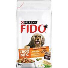 Fido Croquettes Senior aux viandes Céréales et Légumes - … Fido265757