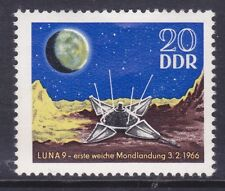 Germany DDR 819 MNH 1966 Luna 9 on Moon 1st Space Soft Landing Issue