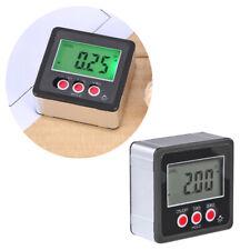 LCD Magnet Digital Winkelmesser Winkelmessgerät Neigungsmesser Inklinometer 360°