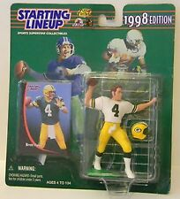 Brett Favre Green Bay Packers 1998 Starting Lineup NFL action figure NIB Kenner