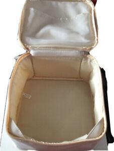 Ivory Make Up Bag Vanity Case