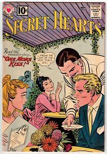 SECRET HEARTS #75 1961 JOHN ROMITA ART DC EARLY SILVER AGE!