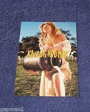 Allied Domeco Spirits Kahlua And Milk 1999 Cheesecake Postcard