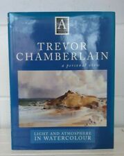 Author Signed Trevor Chamberlain Light and Atmosphere in Watercolour WH280