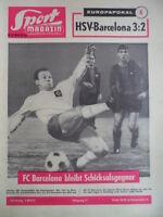 SPORT MAGAZIN KICKER 51-52 B - 19.12. 1963 Hamburger SV-FC Barcelona 3:2 Seeler