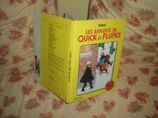 QUICK ET FLUPKE - RECUEIL N°2 EDITION 1984 - HERGE TINTIN