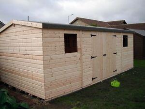 Garden Shed 10x20 Apex Heavy Duty Shiplap Wooden Workshop