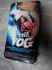 THE FOG vhs John Carpenter horror 80s