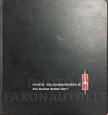 1965 Olds Facts Book Dealer Album 442 Cutlass F85 88 98 Jetstar Starfire