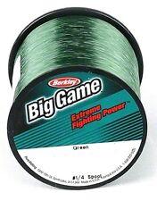 Berkley BGQS60C-22 Trilene Big Game Mono 60Lb 235yd Green Fishing Line
