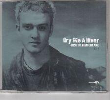 (HE744) Justin Timberlake, Cry Me A River - 2002 CD