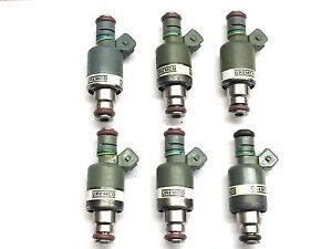 SET OF 6 ROCHESTER FUEL INJECTOR 1994-1995 CHEVY-PONTIAC-OLDSMOBILE  3.4L V6