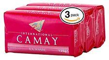3 x Camay International Klassisch Seife 125g Riegel