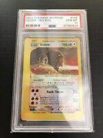 Pokemon Gem MINT Crystal Golem 2003 SKYRIDGE REVERSE Foil 148/144 LOW POP PSA 10