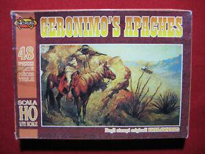 Geronimo's Apaches Figures Horses Nexus Atlantic 1/72 American Indian Natives
