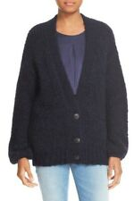 Elizabeth And James Cardigan Sweater Small Women Button Front V-Neck Chunky Knit