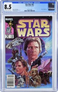 STAR WARS #81 MARVEL CGC 8.5 WHITE PAGES