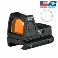 Mini RMR Red Dot Sight Collimator Sight Scope fit 20mm Weaver/Hunting Rifle