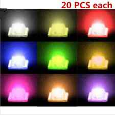 100Pcs 1206 SMD Super Bright LED Lamp White Red Blue Yellow Green (each 20pcs)