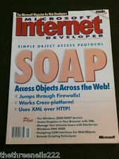 MICROSOFT INTERNET DEVELOPER - V5 # 1 - SOAP - JAN 2000