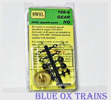 NWSL 188-6 HO/HOn3 MDC 2 OR 3 TRUCK SHAY BULL GEAR