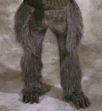 Beast Legs & Feet Gray Wolf Hairy Werewolf  Animal Adult Latex Halloween Costume
