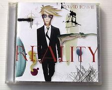 DAVID BOWIE . REALITY . CD